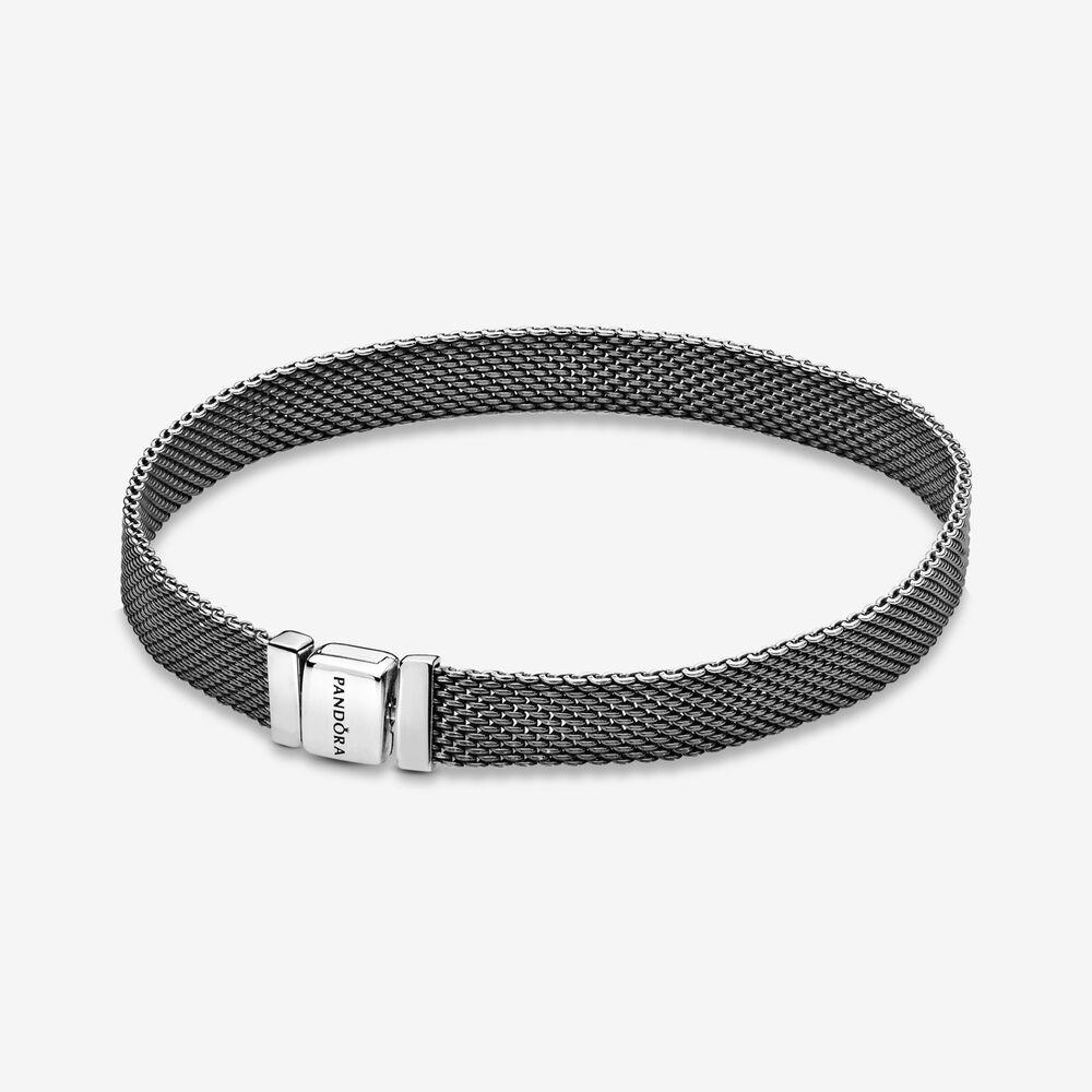 Pandora Reflexions™ Mesh Bracelet | Sterling silver | Pandora US