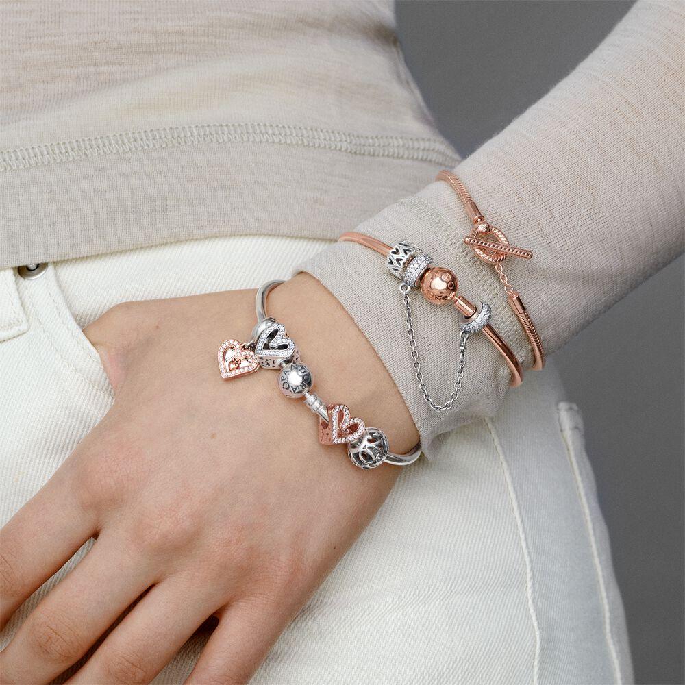 Sterling Silver Bangle Bracelet | Sterling silver | Pandora US