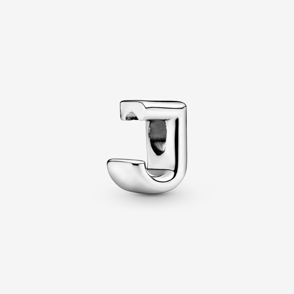 Letter J Alphabet Charm