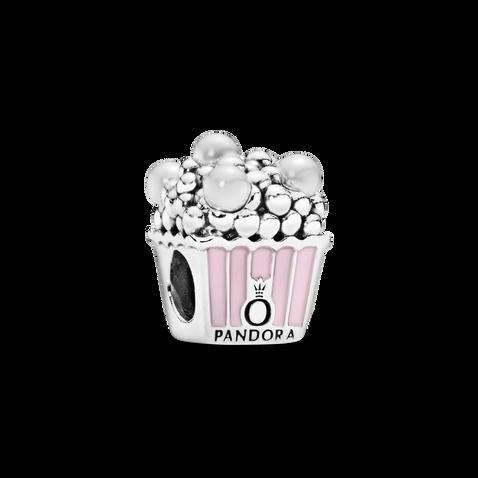 Pink Popcorn Charm