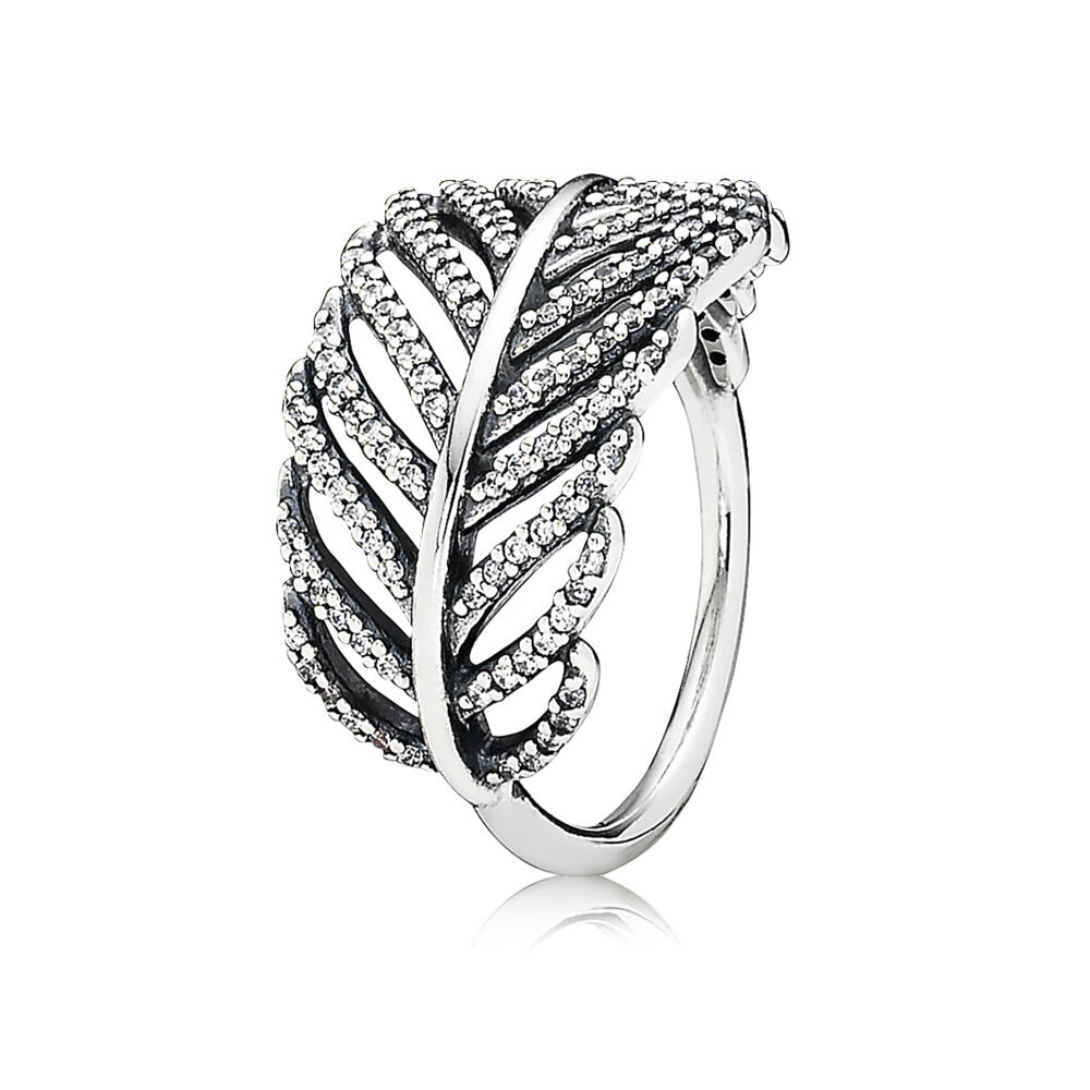 300ba4bbeb Light As A Feather Ring, Clear CZ