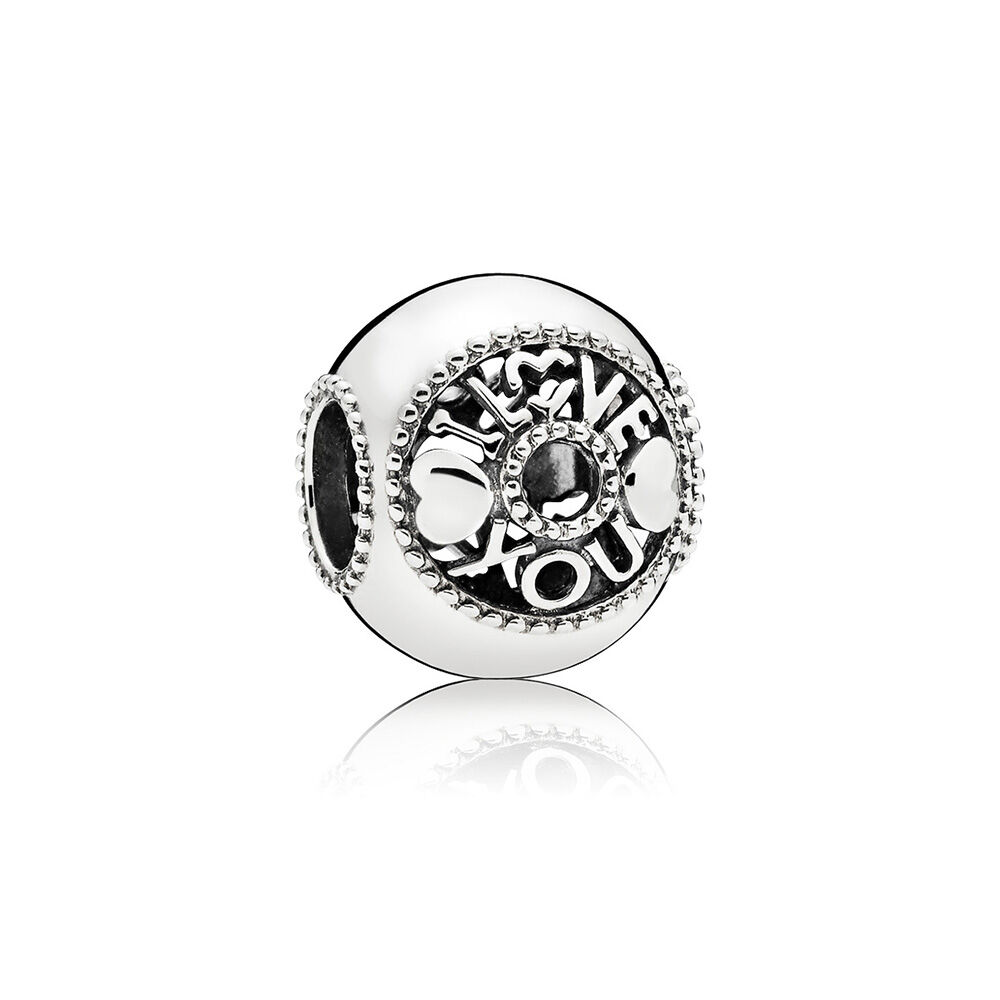 Talk About Love Charm Pandora Jewelry Us