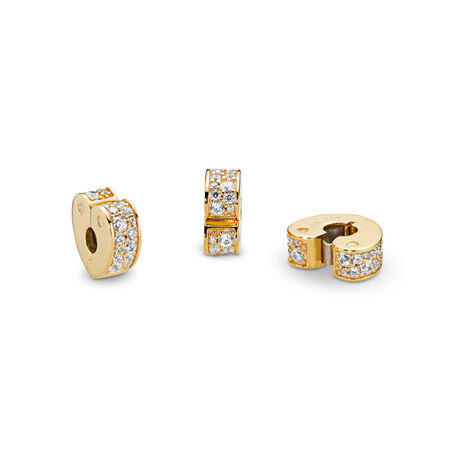 Sparkling Arcs of Love Clip, PANDORA Shine™ & Clear CZ