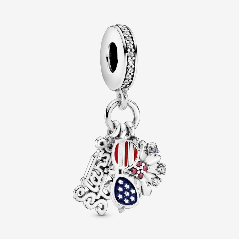 American Icons Dangle Charm | Patriotic Charm | Pandora US ...