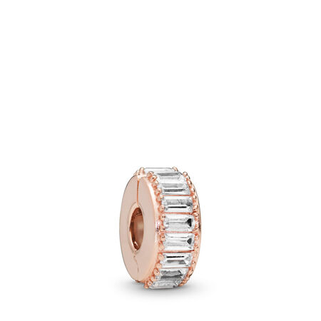 Ice Formation Clip, PANDORA Rose™ & Clear CZ