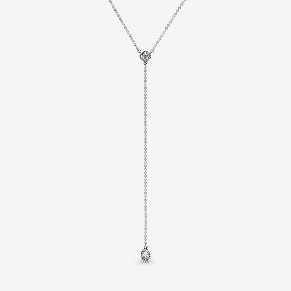 Geometric Shapes Y-Necklace