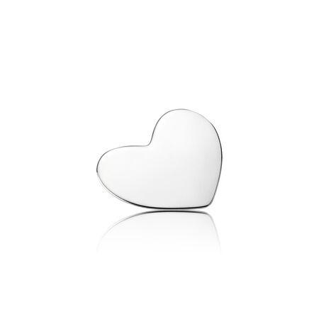Heart Locket Plate, Medium, Sterling silver - PANDORA - #792120
