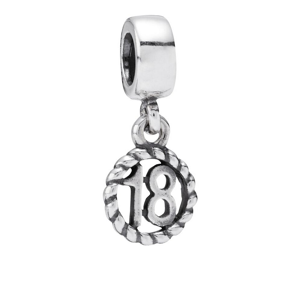 18th Birthday Dangle Charm PANDORA Jewelry US