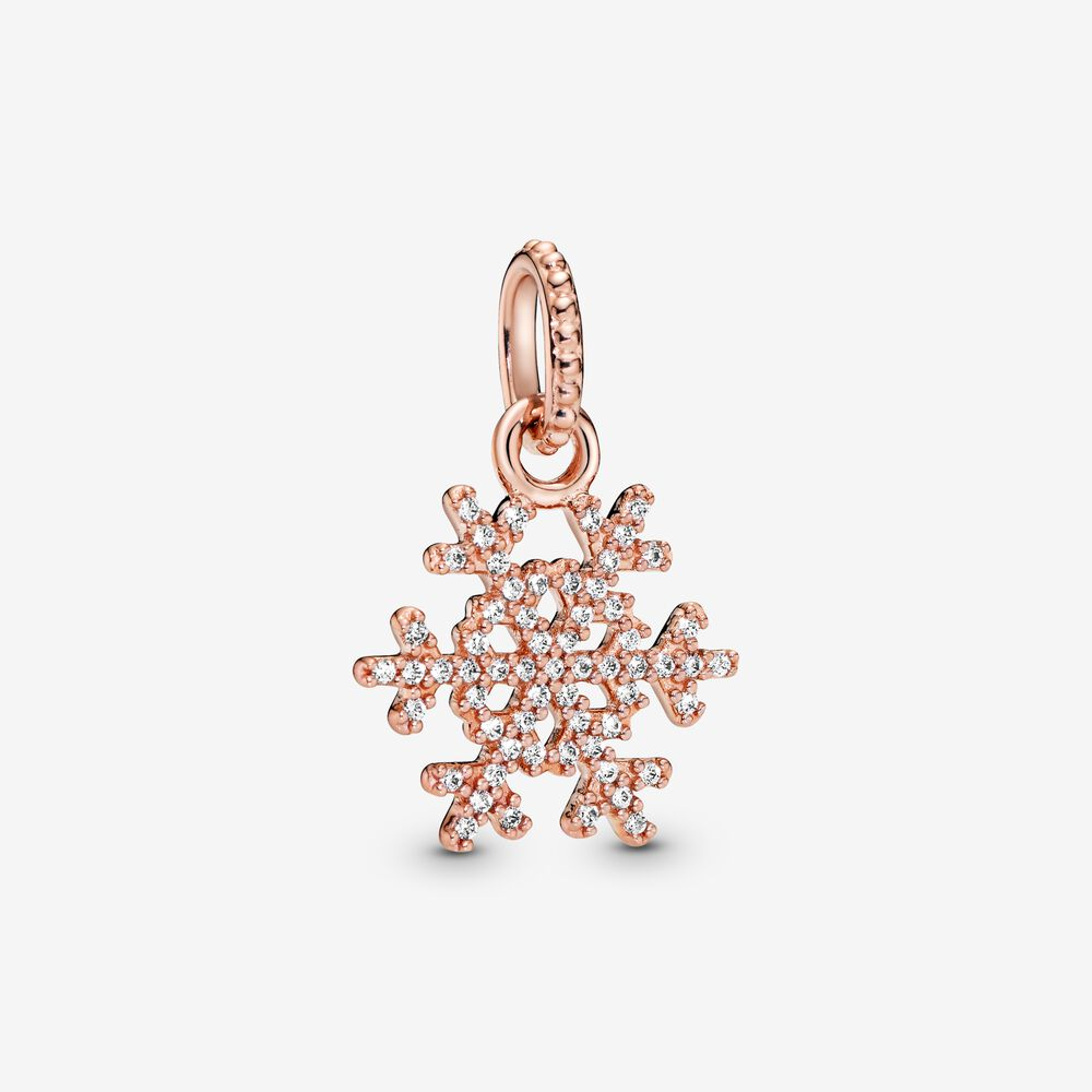 Sparkling Snowflake Pendant