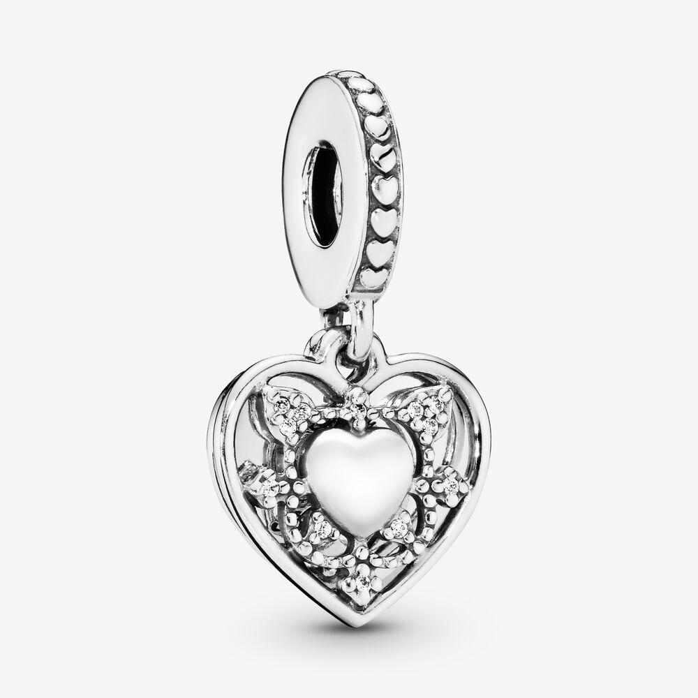 My Wife Always Heart Dangle Charm Sterling Silver Pandora Us
