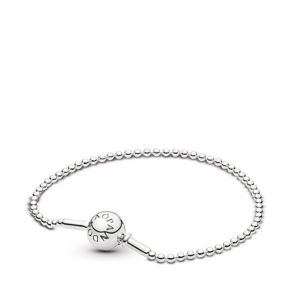 32975152b ESSENCE COLLECTION Beaded Bracelet in Sterling Silver, Sterling silver -  PANDORA - #596002