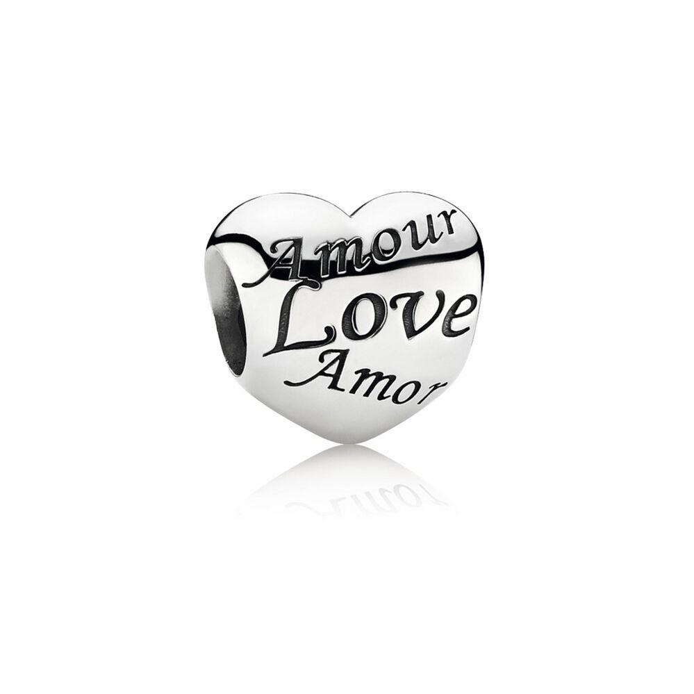 charm pandora i love