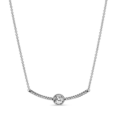 Round Sparkle Necklace