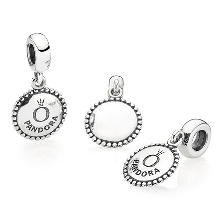 Unforgettable Moment Dangle Charm, Sterling silver - PANDORA - #791169