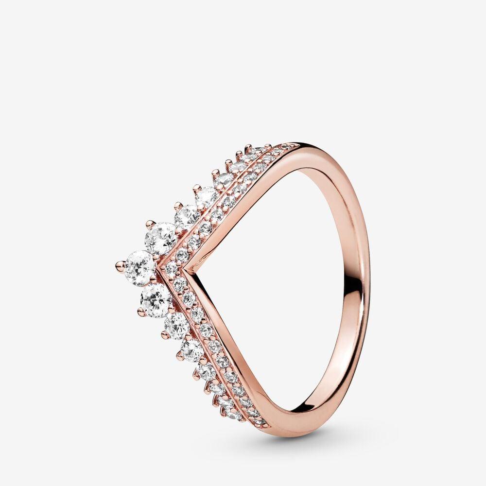 pandora earrings and ring set