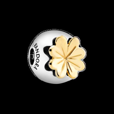 Lucky Four-Leaf Clover Clip Charm