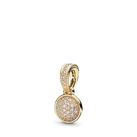 ac8c09754 Dazzling Droplet Pendant, 14K Gold & Clear CZ