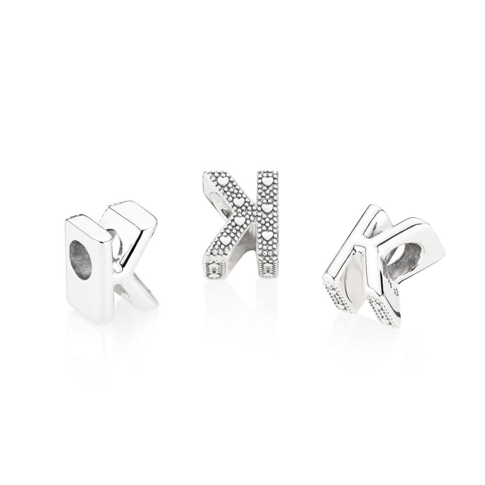 Letter K Charm Pandora Jewelry Us