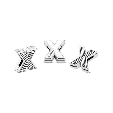 Pandora Reflexions™ Letter X Clip Charm
