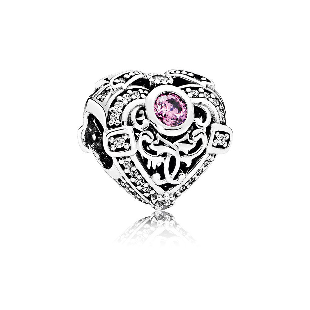 Opulent Heart Orchid Clear Cz Pandora Jewelry Us