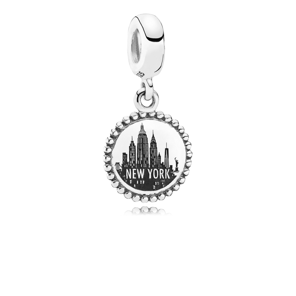 Statue of liberty dangle charm pandora jewelry us new york city aloadofball