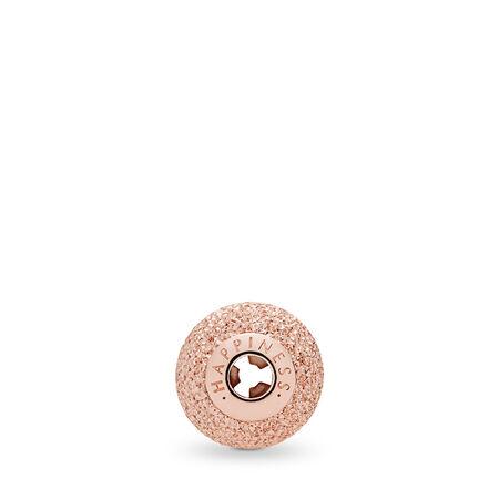 HAPPINESS Charm, PANDORA Rose™, PANDORA Rose, Silicone - PANDORA - #786202
