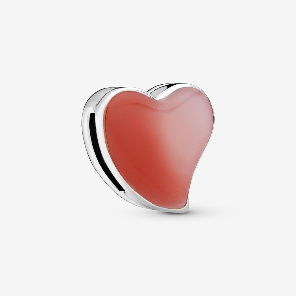 Asymmetrical Heart Clip Charm