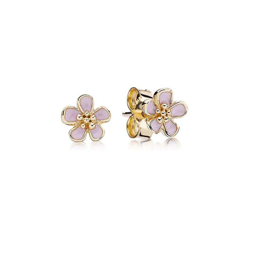 sky little stud stone earrings disc products gold