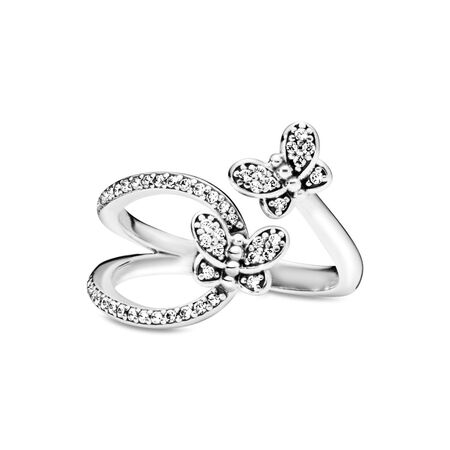 Bedazzling Butterflies Ring