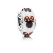 Classic Disney Minnie Charm, Murano Glass