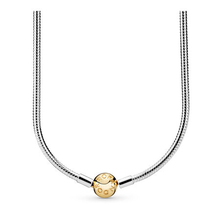 PANDORA Shine™ & Sterling Silver Snake Chain Necklace