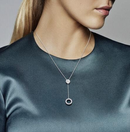 PANDORA Signature Necklace, Clear CZ