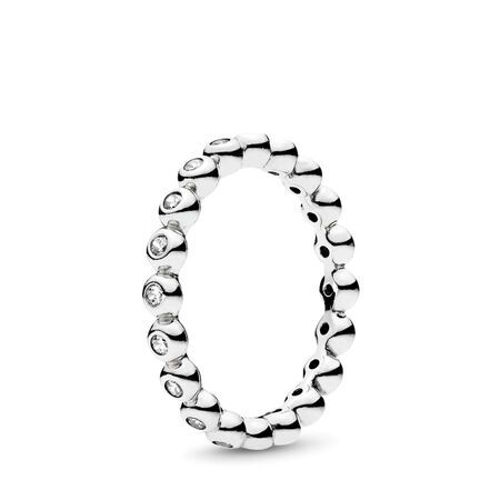 For Eternity Ring, Clear CZ