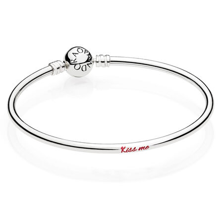 Kiss Me Engraved Bangle