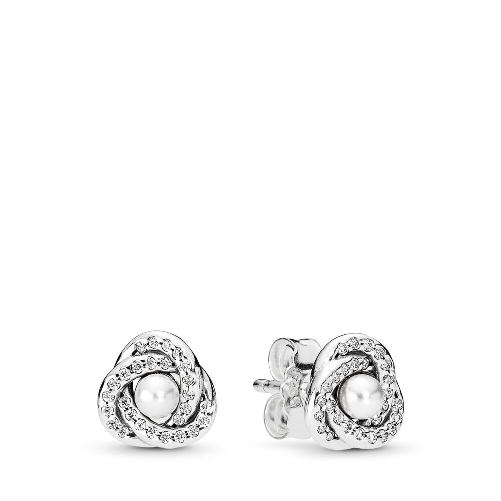 1a791b28bf9 Luminous Love Knots Stud Earrings
