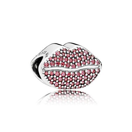 Kiss More Lips Charm Gift Set