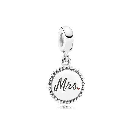 Mrs. Charm, Sterling silver - PANDORA - #ENG791169_32