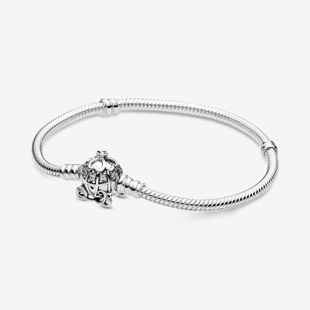 Disney Cinderella Pumpkin Coach Clasp Pandora Moments Bracelet ...