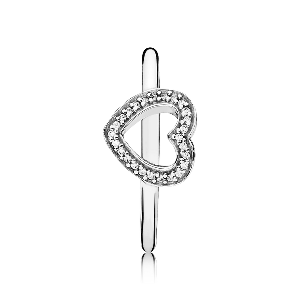 be my valentine ring clear cz pandora jewelry us