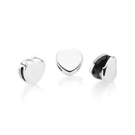 PANDORA Reflexions™ Heart Clip Charm
