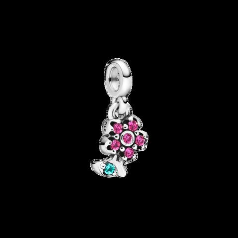 My Pretty Flower Dangle Charm