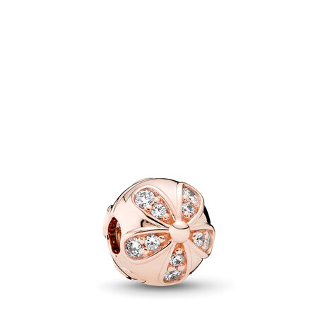 Dazzling Daisies Clip, PANDORA Rose™ & Clear CZ