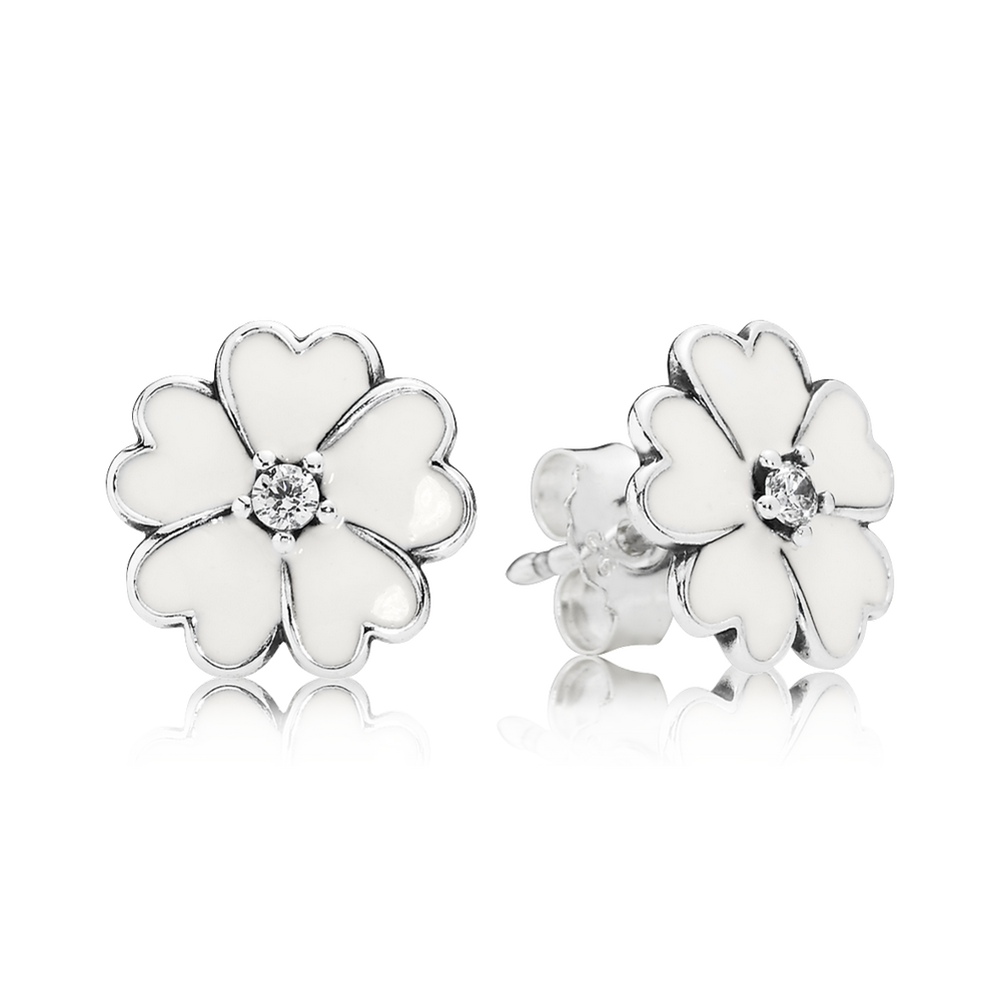 with for jewelry women white flower in stud diamond rg gold nl earrings rose earring fascinating