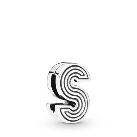 Pandora Reflexions™ Letter S Clip Charm