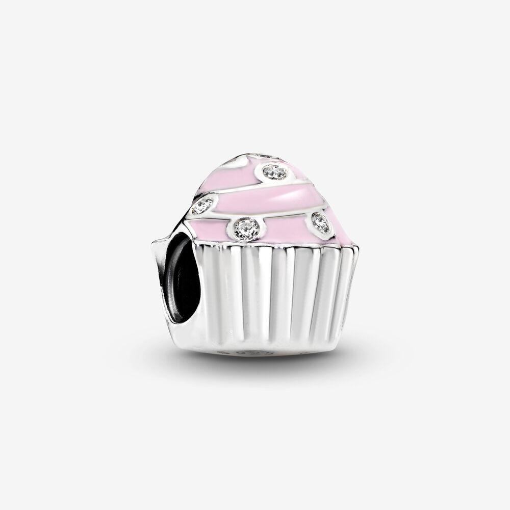Pink Cupcake Charm