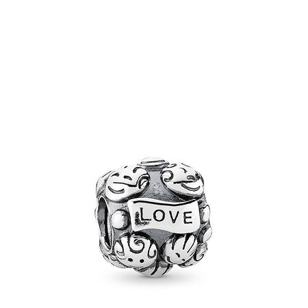Love & Family Charm, Sterling silver - PANDORA - #791039