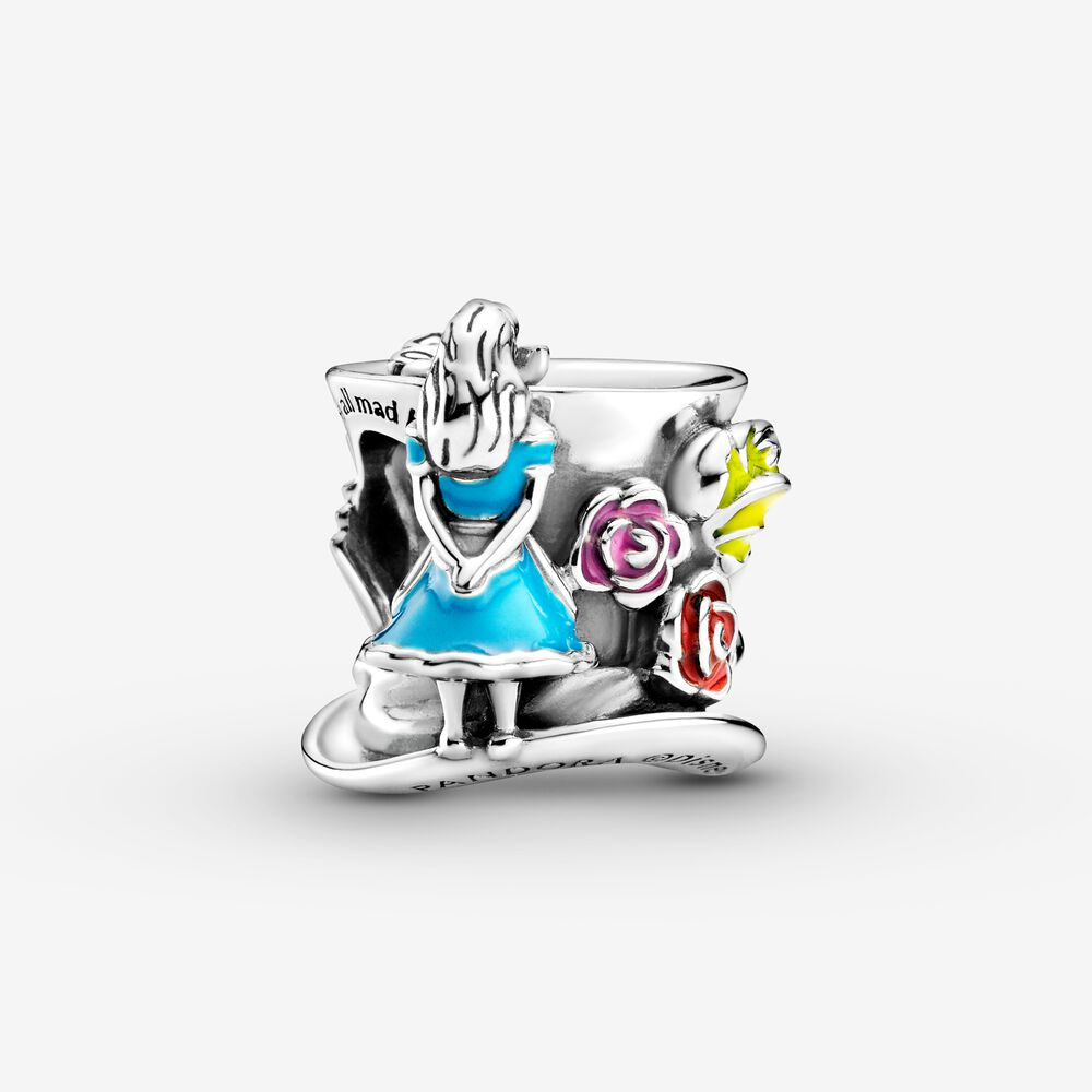 Disney Alice in Wonderland & The Mad Hatter's Tea Party Charm