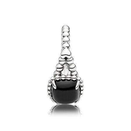Vibrant Spirit Ring, Black Crystal