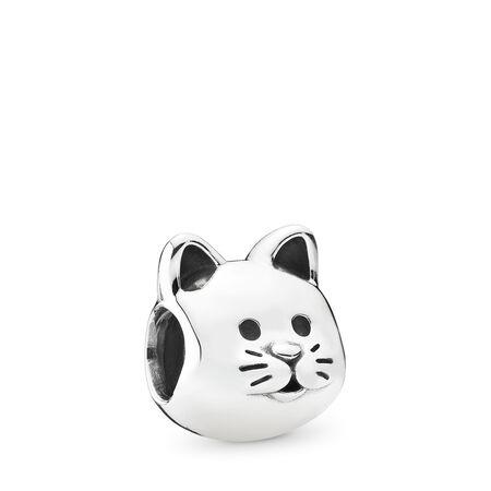 Curious Cat Charm