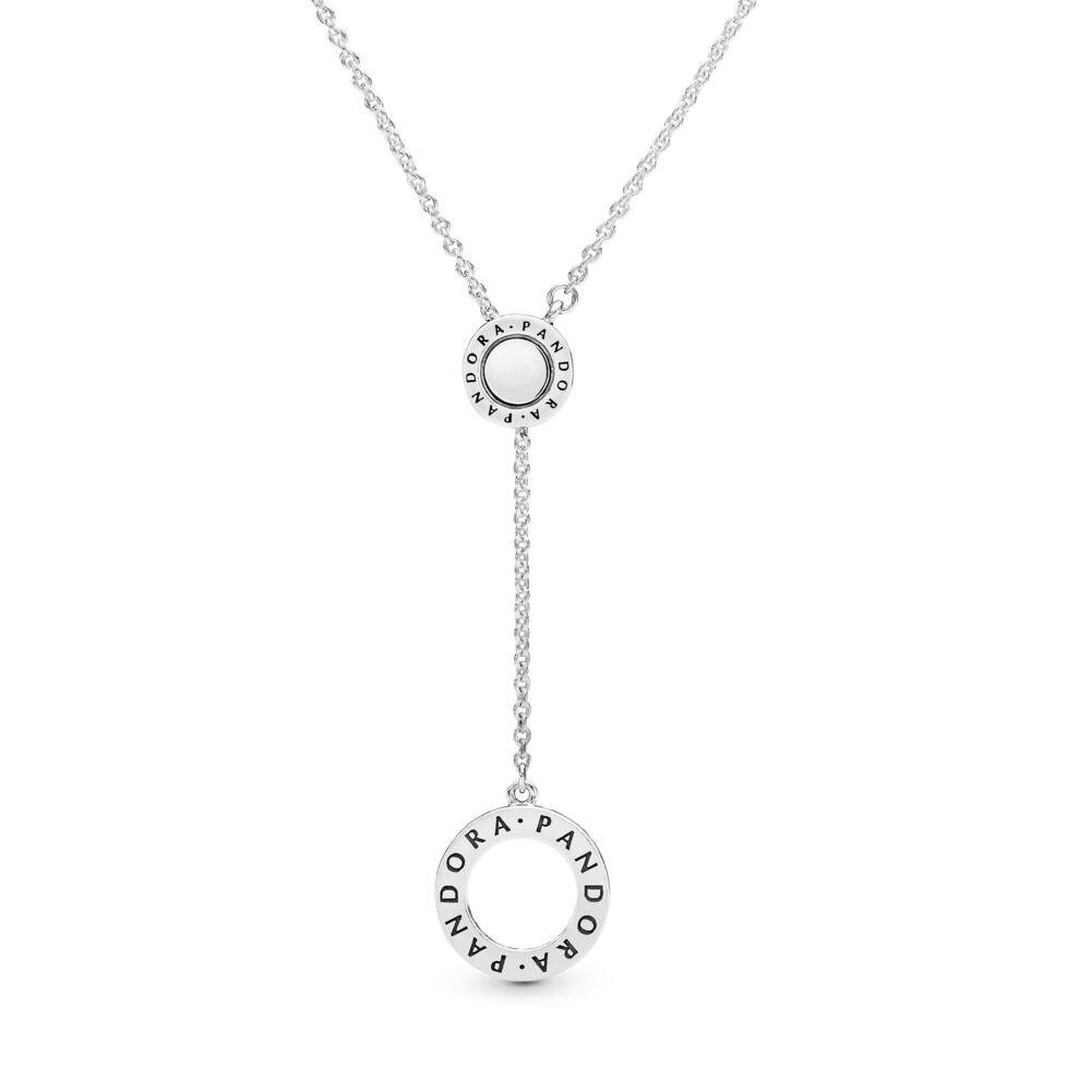 4b7b1cad9 PANDORA Signature Necklace, Clear CZ